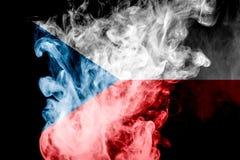 Bandera nacional de la República Checa foto de archivo