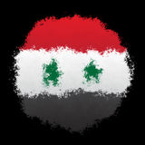 Bandera nacional de Siria Imagen de archivo