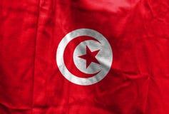 Bandera nacional de Túnez fotografía de archivo libre de regalías
