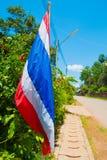 Bandera nacional de Tailandia Imágenes de archivo libres de regalías