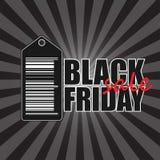 Bandera negra de viernes Imagen de archivo libre de regalías