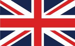 Bandera o Union Jack de unión Imagen de archivo libre de regalías