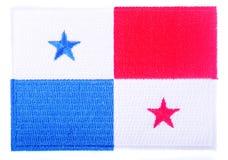 Bandera panameña Imágenes de archivo libres de regalías