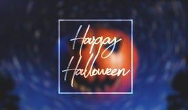 Bandera para Halloween, Imagen de archivo libre de regalías
