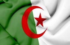 Bandera que agita de Argelia libre illustration