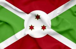 Bandera que agita de Burundi libre illustration