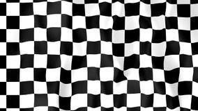 Bandera que compite con animada libre illustration