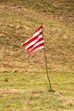 Bandera rayada Fotografía de archivo
