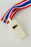 Bandera rayada del silbido y de la cinta de Tailandia Imágenes de archivo libres de regalías