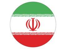 Bandera redonda de Irán libre illustration