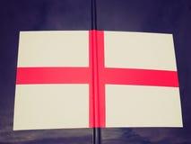 Bandera retra de Inglaterra de la mirada Fotos de archivo