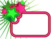 Bandera retra de las estrellas libre illustration