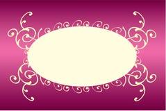 Bandera rosada Stock de ilustración