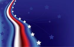 Bandera Star-spangled Imágenes de archivo libres de regalías