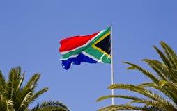 Bandera surafricana grande Foto de archivo libre de regalías