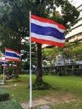 Bandera tailandesa Foto de archivo