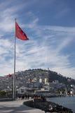 Bandera turca Imagen de archivo libre de regalías