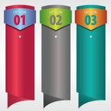 Bandera vertical. Imagen de archivo libre de regalías