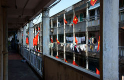 Bandera vietnamita Fotografía de archivo libre de regalías