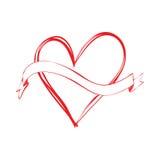 Bandera y amor libre illustration