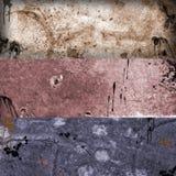 Banderas 1 de Grunge Imágenes de archivo libres de regalías