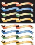 Banderas Stock de ilustración
