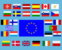 Banderas Fotografía de archivo
