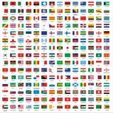 Banderas Foto de archivo