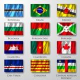 Banderas. Fotos de archivo