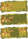Banderas Imágenes de archivo libres de regalías
