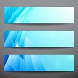 Banderas abstractas del vector Imagen de archivo libre de regalías