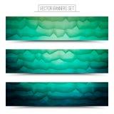 Banderas abstractas del web de la tecnología del vector libre illustration