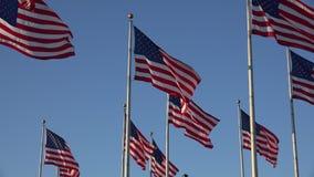 Banderas americanas, Estados Unidos, 4tos de julio almacen de video