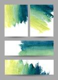 Banderas coloreadas fijadas Imagen de archivo