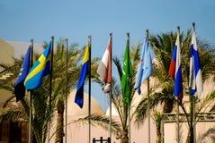 Banderas coloridas Imagenes de archivo