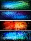 Banderas creativas Imagen de archivo