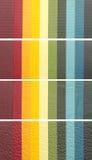 Banderas de Colorul Imagenes de archivo