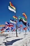 Banderas de diversas naciones, Bolivia Fotografía de archivo