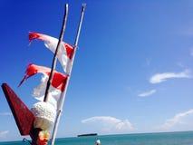 Banderas de Indonesia foto de archivo libre de regalías