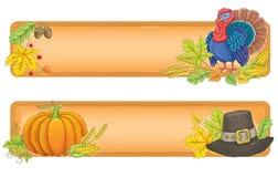 Banderas de la acción de gracias ilustración del vector