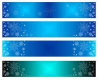 Banderas de la Feliz Navidad, Año Nuevo, fundación, nueva, para la web, para hacer publicidad, en venta, del asunto, ilustración del vector