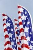 Banderas de las barras y estrellas Imagen de archivo libre de regalías