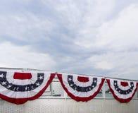 Banderas de los Estados Unidos de América Fotos de archivo