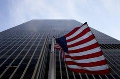 Banderas de los Estados Unidos de América Fotos de archivo libres de regalías