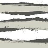 Banderas de Splat con efecto del grunge
