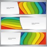 Banderas del arco iris. Foto de archivo libre de regalías