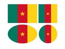 Banderas del Camerún - la República de Camerún