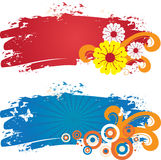Banderas del color Fotos de archivo