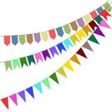 Banderas del día de fiesta Imagen de archivo libre de regalías