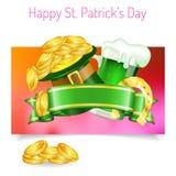 Banderas del día del St Patrick Imagen de archivo libre de regalías